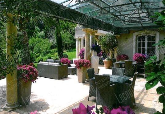 Hotel **** Saint Tropez terrasse
