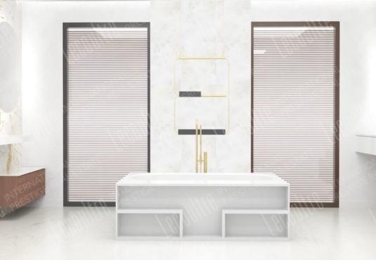 conches villa salle de bain