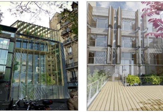 Maison 14 Paris façades